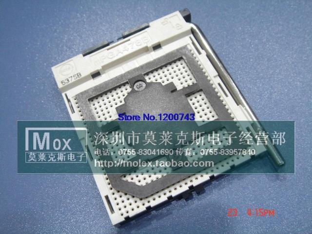 Free shipping 478 CPU connector base mPGA478B(China (Mainland))