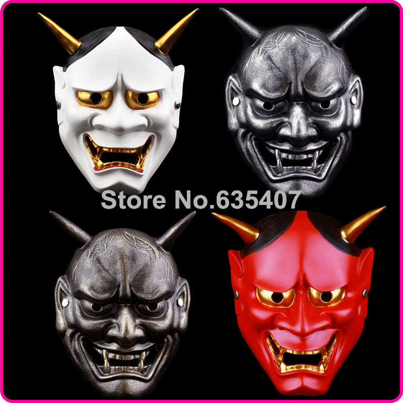 China Manufacturer Japanese Buddhism Prajna Ghost Traditional Hannya Mask Hannya Mask Small(China (Mainland))