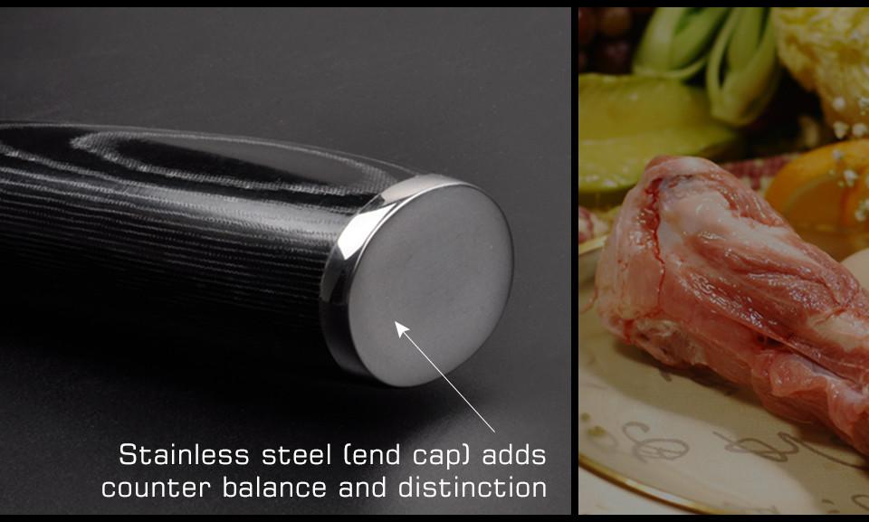 "Buy 6 ""inch damascus boning knives Utility Japanese VG10 Damascus steel kitchen knives Blackwood handle Professional Chef Knife cheap"