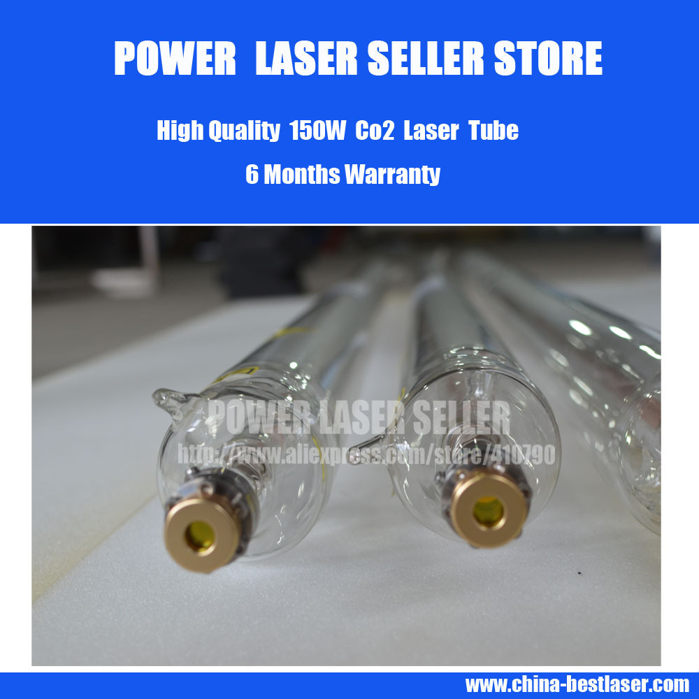 High Quality 150w Co2 Laser Tube for co2 laser engraving cutting machine(China (Mainland))