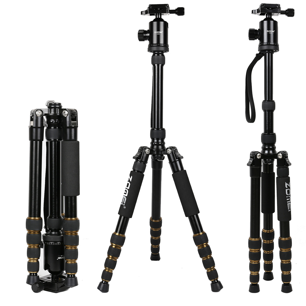 Camera Clearance Dslr Cameras online buy wholesale clearance digital cameras from china sale zomei z 669 aluminum alloy photo tripod detachable changeable monopod with ball head