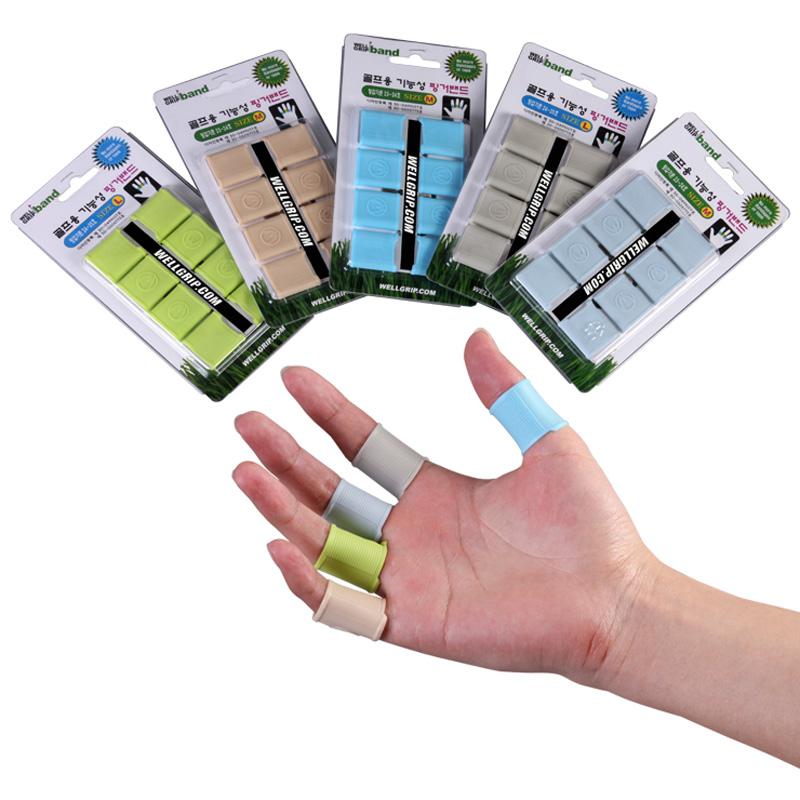 TYGJ South Korea imported natural silica gel Golf fingerstall play essential to prevent the slide bar(China (Mainland))