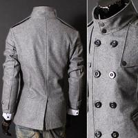 Мужские изделия из шерсти New Brand  1215-02