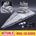 LEPIN 05027 3250pcs Star Wars Emperor Fighters Starship Model Building Kit Blocks Bricks Assembling Toy Compatible