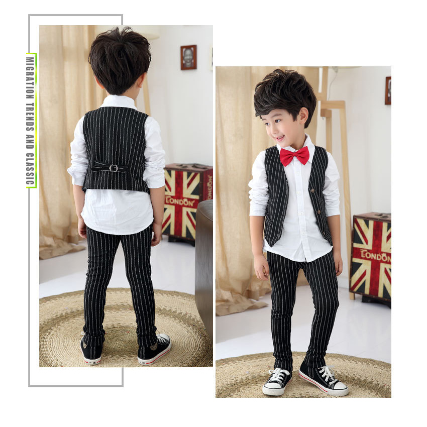 Boys Suits for Weddings Stripe Blazers Jackets Menino Kids Prom Suit Baby Sets Costume Garcon Mariage  sc 1 st  kolonel.net & Suits u0026 Blazers - Page 1