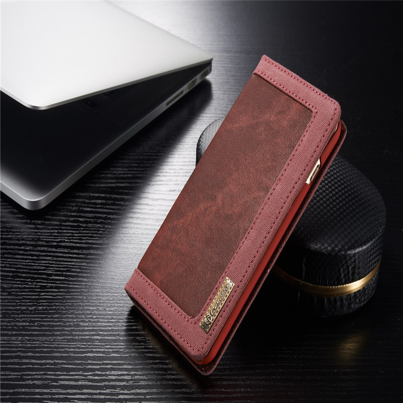 Luxury CaseMe Jeans+Leather Flip Wallet Card Mobile Phone Stand Case For iphone 6 6s plus Cover Bags Business Enterprise style(China (Mainland))