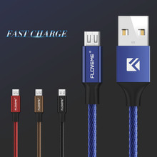 Buy FLOVEME Original Micro USB Cable Fast Charging Mobile Phone Cable Data Sync Xiaomi Samsung HTC Huawei Charging Android 2.1A for $2.49 in AliExpress store