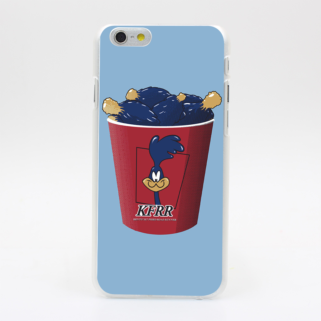 1283Y Kentucky Fried Road Runner Hard Case Transparent Cover for iPhone 4 4s 5 5s 5c SE 6 6s Plus(China (Mainland))