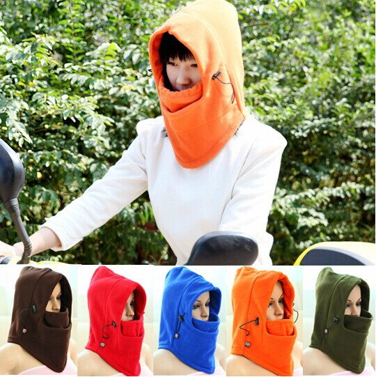 thick autumn winter cap windproof balaclavas riding headgear hood lady male warm outdoor masks - WanDa Fashion Trading Conpany store