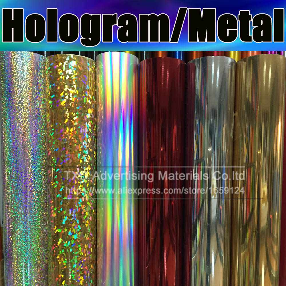 High quality Metallic heat transfer film for shirts,Heat Transfer Vinyl, metal transfer vinyl pu film with size:50cm*25m/roll(China (Mainland))