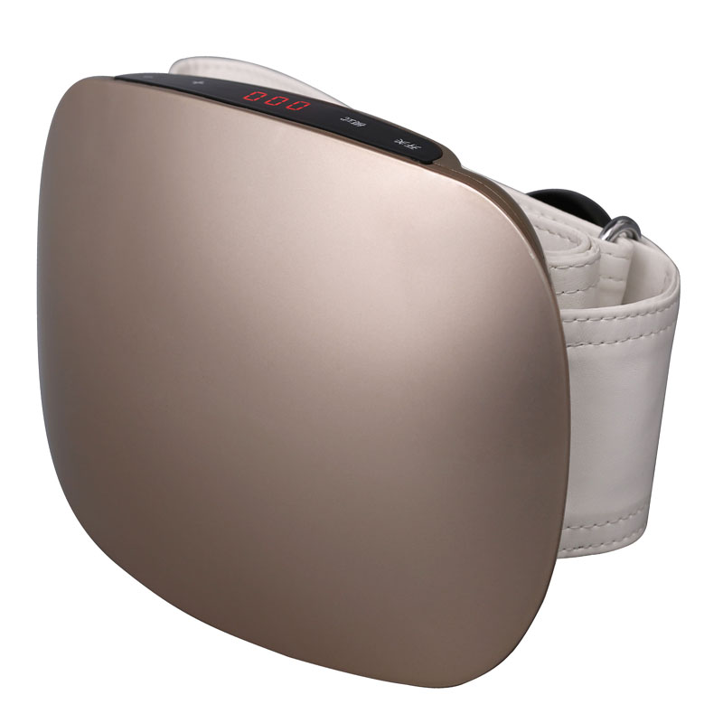 Rechargeable women waist slimming belt belly.Electric back shoulder buttock vibration anti cellulite massager Fat burner machine(China (Mainland))