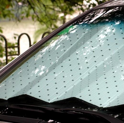Window Foils Windshield Sun Shade Car Windshield Visor Cover Block Front Window Sunshade UV Protect Car