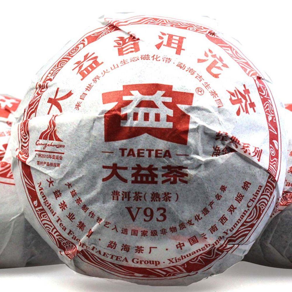 2011 Menghai Dayi Teatea V93 Shu Pu erh Tea Yunnan Puer Tuo Cha 100g P091 Pu
