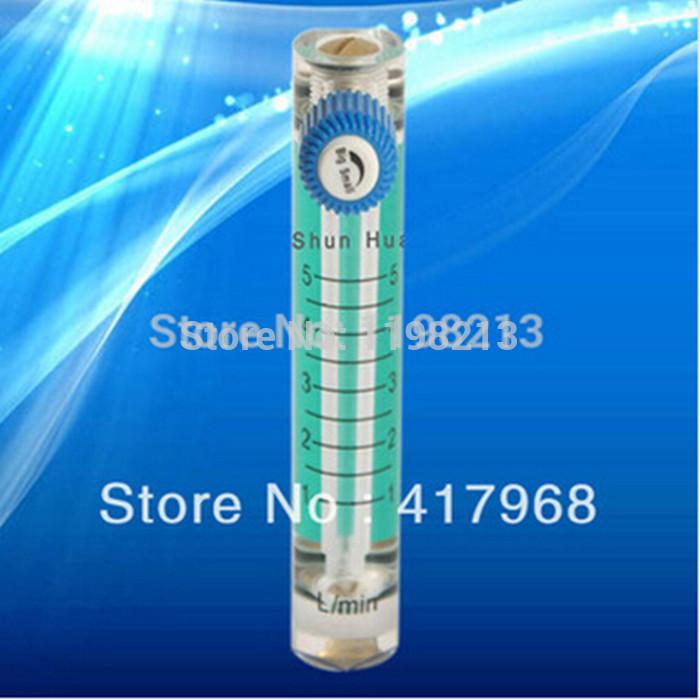 10pcs 1-5LPM air flow meter oxygen flowmeter gas rotameter<br><br>Aliexpress
