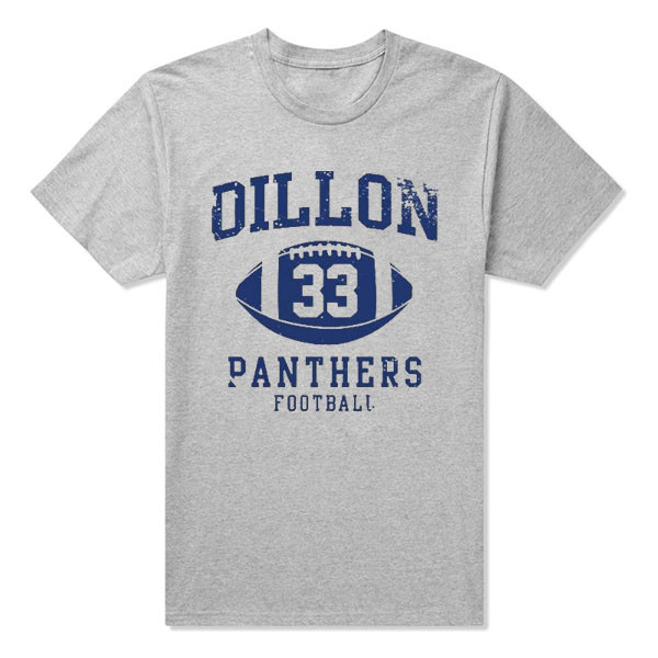 High Quality friday night Dillon Panthers Football tim riggins dillon 33 sports t-shirt Camisetas Cloth baseball panthers(China (Mainland))