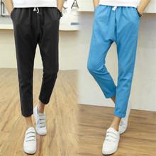 Men Pants 2015 New Arrival Autumn Style Men Full Length Mens Joggers Pants Hip Hop Men Pants Casual Sportwear(China (Mainland))