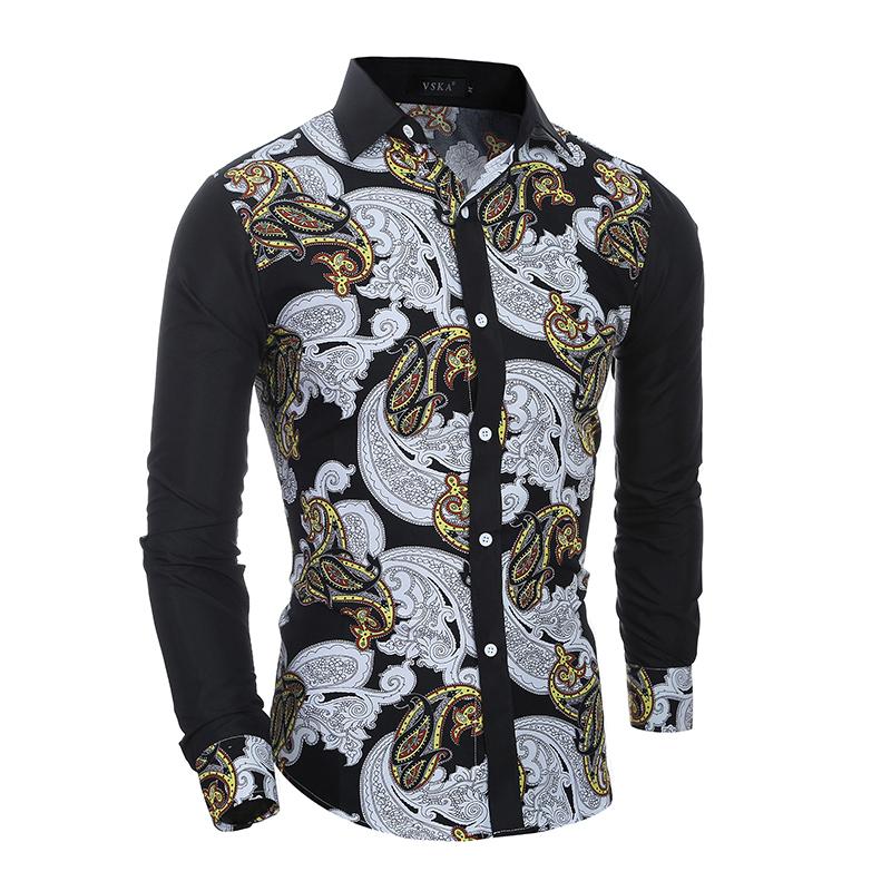 Мужская повседневная рубашка XXL