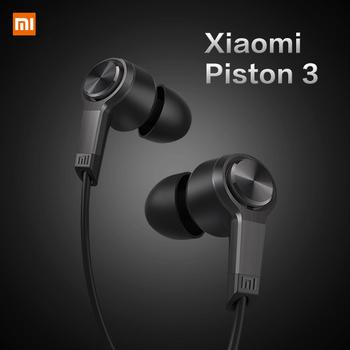 Новый высокое качество первоначально Xiaomi поршня 3 модный дизайн наушники-вкладыши наушников гарнитура для смартфонов