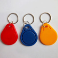 FREE SHIPPING 5pcs UID IC card Changeable Writable keyfobs key tags one IC 13 56Mhz blue