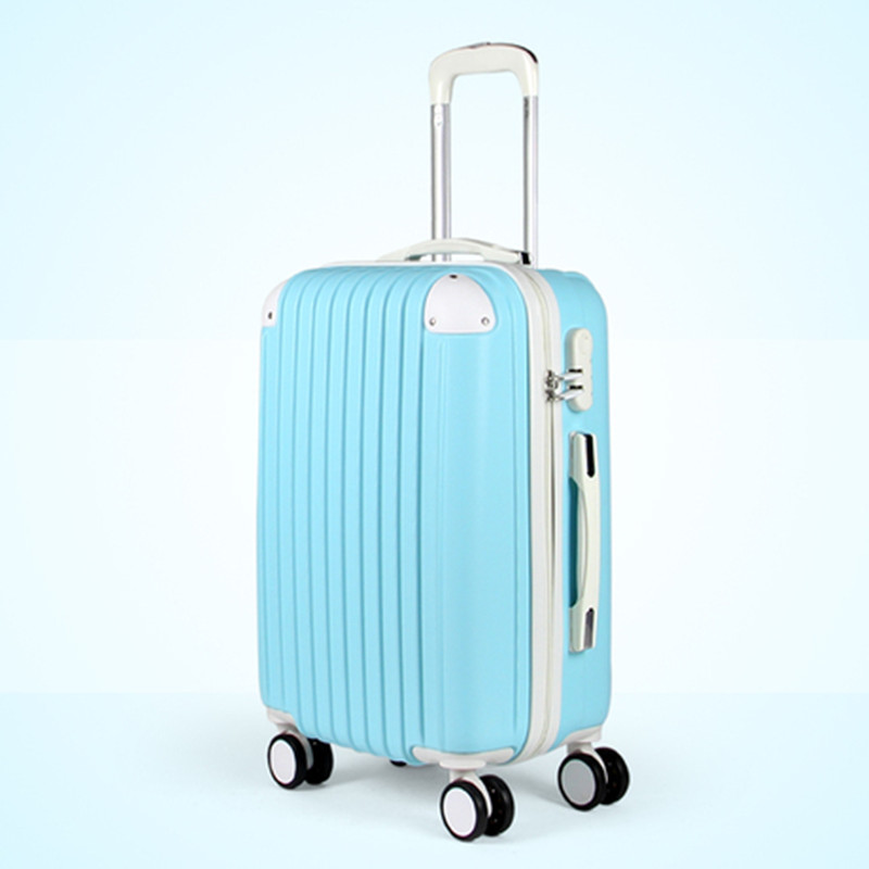 Free shipping Abs pc trolley luggage universal wheels of the box 24 luggage travel bag<br><br>Aliexpress