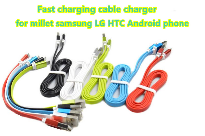 1M 2A Micro USB Charger Data Cable Fast Charging Data Cable Charger for Samsung for Xiaomi LG HTC All Android Phone