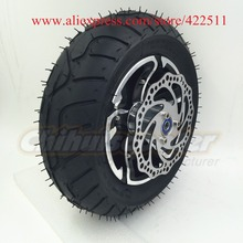 "Buy 12"", D300mm Electric Scooter Rear Wheels 90/65-6.5 On-road Tyre/12"" New Scooter Rear Wheel Brake Disc (Scooter Parts) for $37.69 in AliExpress store"