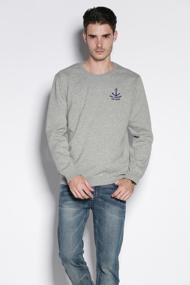 Осень мужские толстовки свободного покроя спортивная одежда 100% хлопок утолщаются флис с круглым вырезом фитнес вилочная часть пуловер