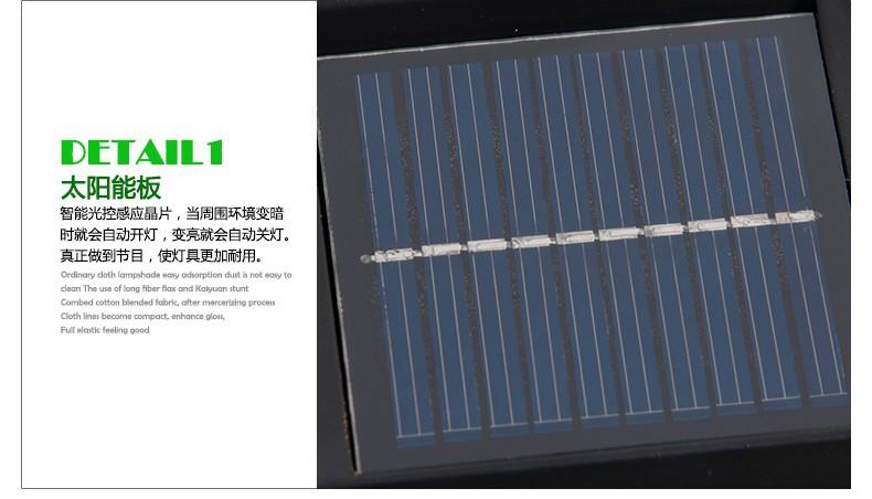 1.2 м 120lm Открытый LED Солнечной сад света Водонепроницаемый Светильник Штендера для украшения сада пейзаж газон двор путь домой