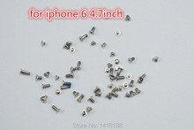 NEW OEM Complete Replacement Repair Screws Complete Set For iPhone 6 4.7inch 10pcs/lot Free Shipping(China (Mainland))