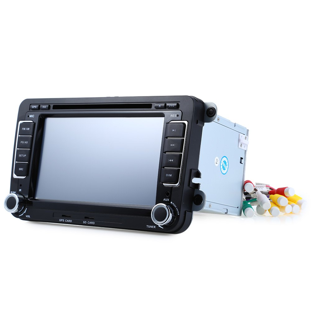 Best price 7 inch Double Din 16GB Car DVD Player GPS Navigation In-dash Auto Radio Audio Stereo Touch HD TFT LCD Screen car dvd(China (Mainland))