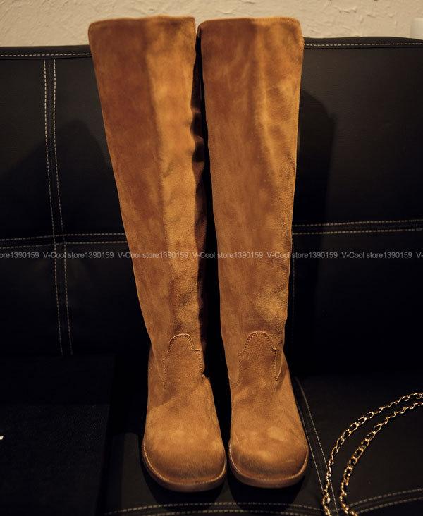 Aliexpress.com : Buy Plus Size 34 41Nubuck Leather Women's ...