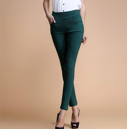New 2016 Women's Jeans Fashion Candy Color Skinny Pants low waist With 4 Pockets Cotton Trousers Fit Lady Jeans Women M-XL A0150(China (Mainland))
