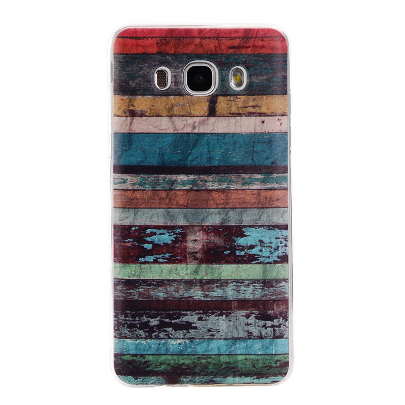 Colorful TPU Case sFor Coque Samsung Galaxy J3 2016 J320 J320F J300 Clear Donuts Soft Transparent Case Cover For Galaxy J300F