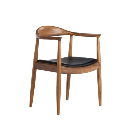 Ikea scandinavian modern design personalized fashion casual and simple wood dining chair hotel - Scandinavian chair ...