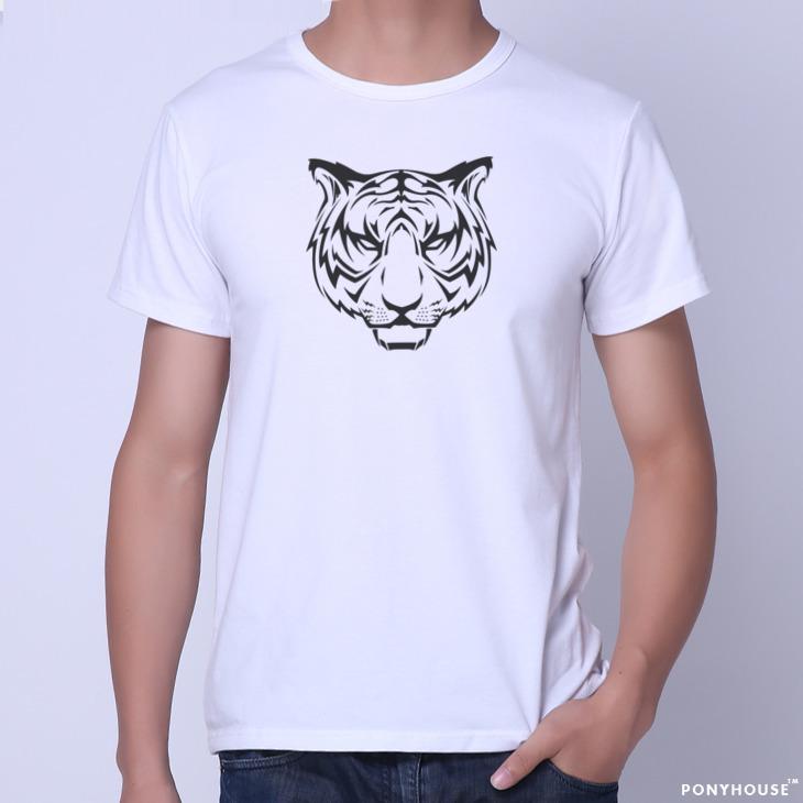 Гаджет  2015K send Indoorsman fashion depth Valentine WIC TIGER short sleeved T-shirt male tiger None Изготовление под заказ
