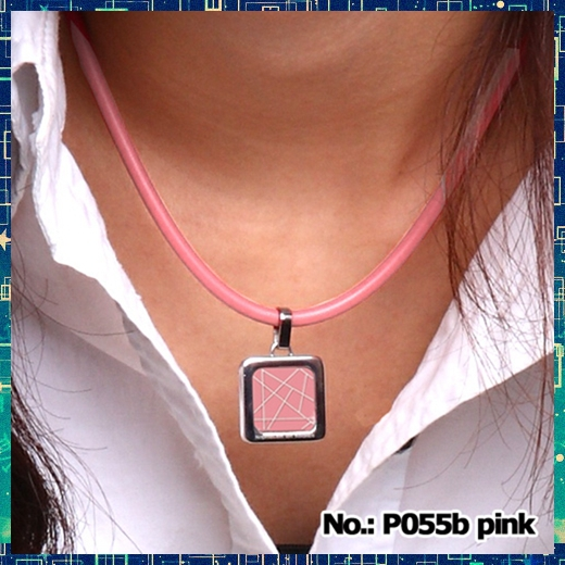B90055B S NOPROBLEM balance titanium sport band football club ion power Crystal pendant Necklace(China (Mainland))