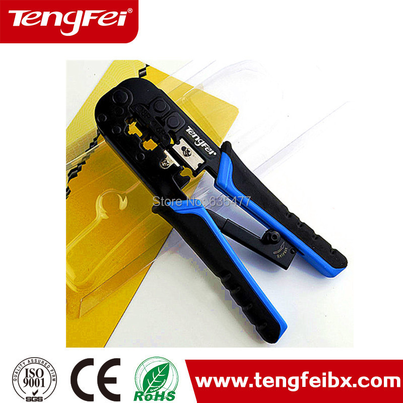 "TF-N568R Multi function 7.3""long,8p8c /6p6c /6p4c RJ 11 RJ12 RJ45 wire stripper cutter crimper crimping pliers hand tool(China (Mainland))"