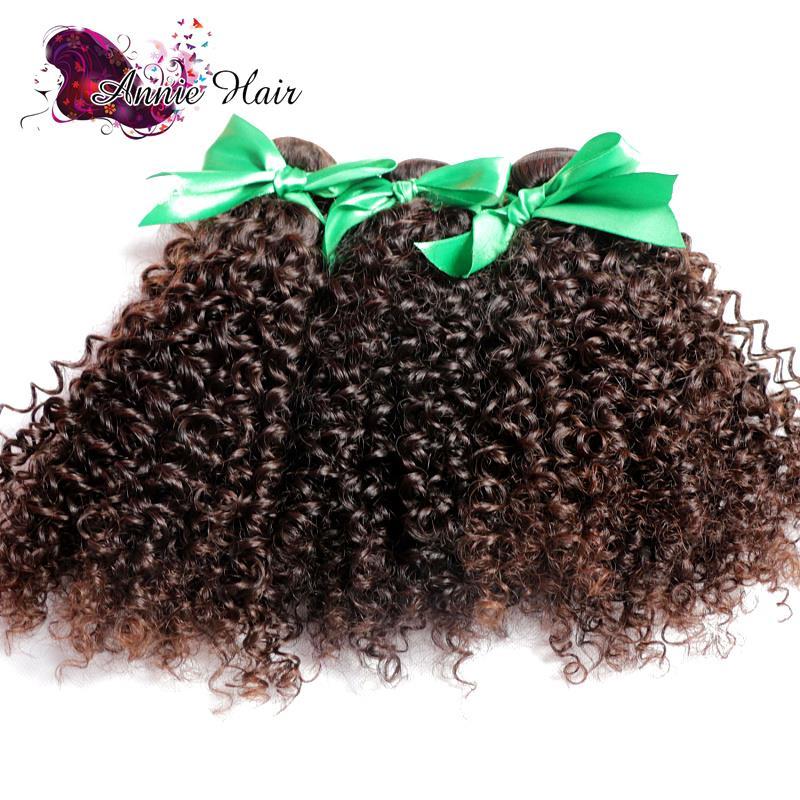 New Yvonne Brazilian Kinky Curly Hair Unprocessed Brazilian Deep Curly Virgin Hair 3 Bundles/Lot Kinky Curly Virgin Human Hair