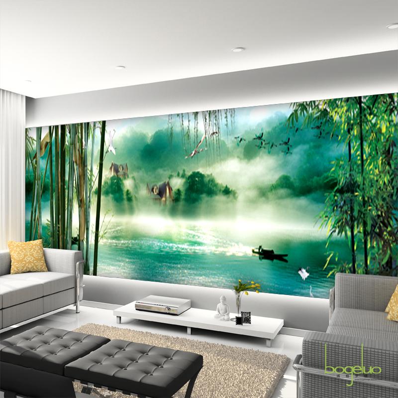 Mural eco papel de parede tv sof fundo papel de parede do for Papel tapiz estilo mural