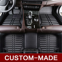 Custom fit car floor mats for Hyundai Tucson 2016 ix35 i30 all weather protection heavy duty car-styling carpet floor liners