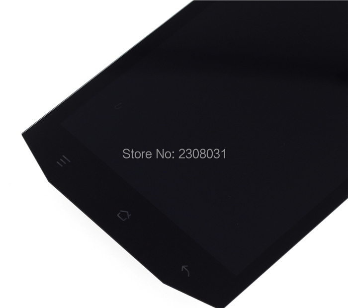 100% Tested LCD Display Touch Panel For MANN ZUG 5 ZUG5 ZUG5S  Touch Screen Black Color Mobile Phone LCDs Free Shipping