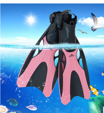 Free shipping SABRT 2015 Summer New Fashion Manner Fins men's and momen's Diving Fins Adult Swimming Fin Long Flipper Fins(China (Mainland))