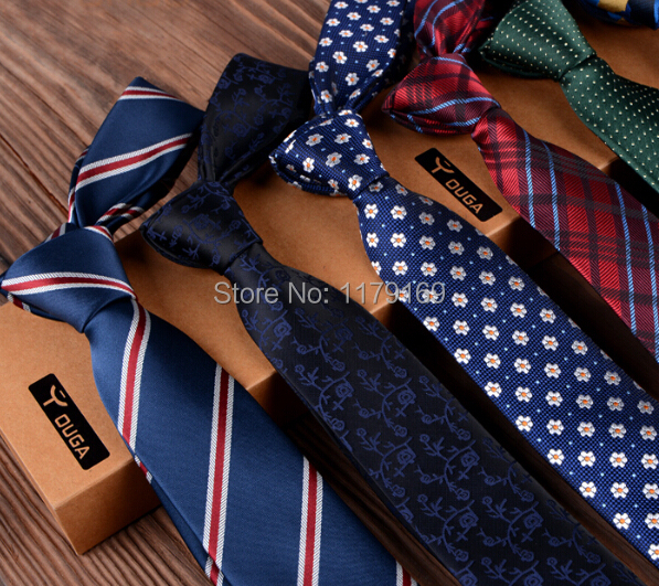 2015 New Classic England style Stripes JACQUARD WOVEN Silk Men s Tie Necktie ld 11