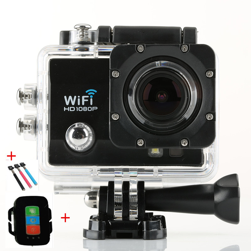 "New F7 Sj 7000 Wifi Action Camera Remote Control 60FPS Full HD 1080P 2.0"" LCD 170D Lens Waterproof 30M Mini Camcorder Helmet Cam(China (Mainland))"