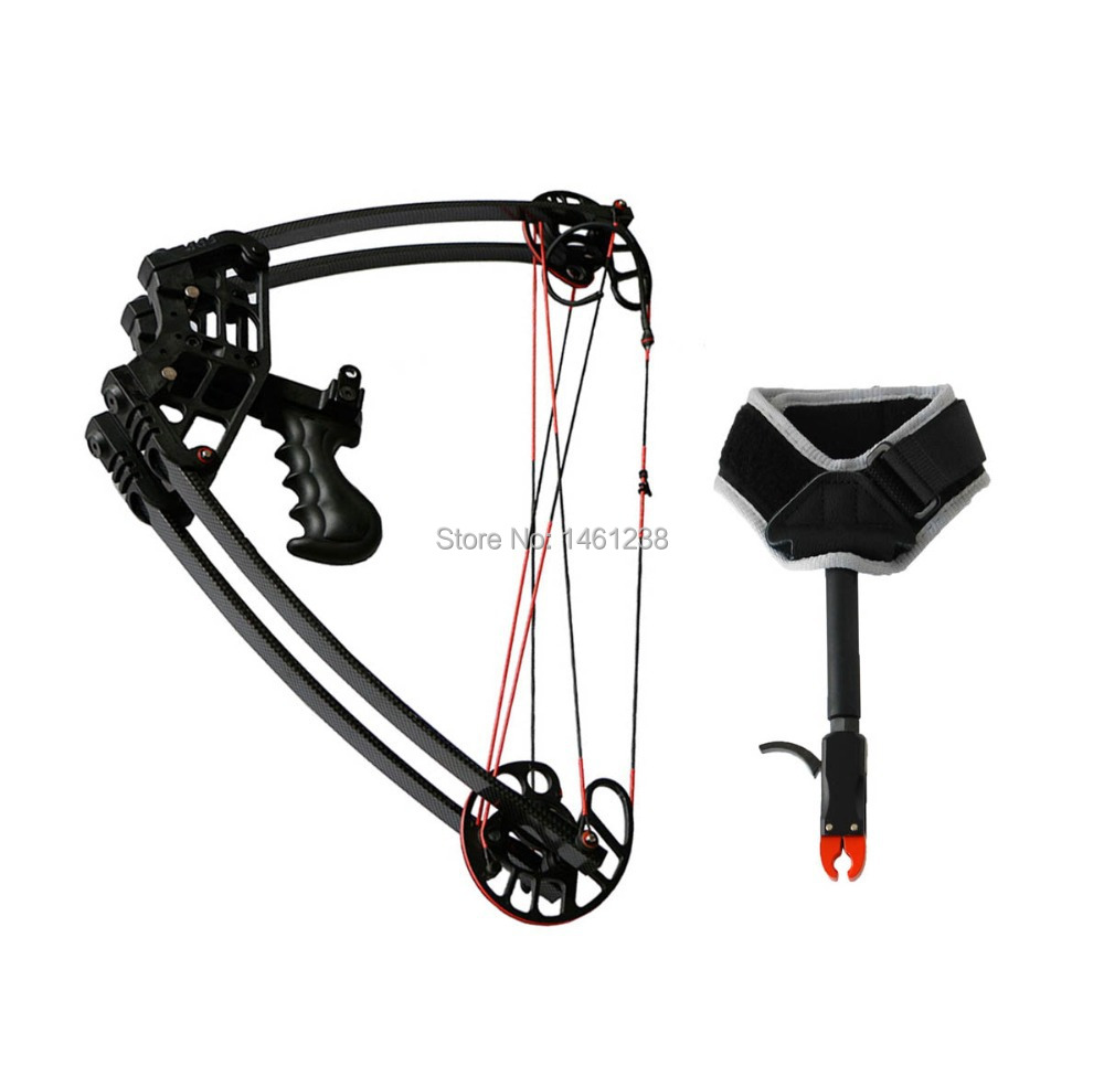 Hot sale Archery 50lbs hunting triangle compound bow Bow and arrow 260fps Arrow speed hunting shooting