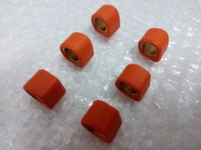 5.5G 139QMA 139QMB 49cc 50cc 80cc 100cc GY6 Performance Roller Weights Variator Rollers Set Znen Tank 16X13 orange