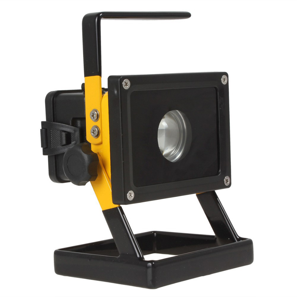 Super Square 30W 2400LM XML-L2 LED Floodlight Portable Rechargeable Emergency Work Light + AC Charger + Car Charger(China (Mainland))