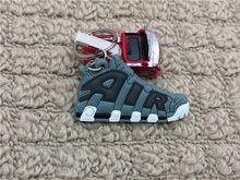 Mini Silicone KHÔNG Móc Khóa Túi Quyến Rũ Người Phụ Nữ Nam Trẻ Em Móc Khóa Quà Tặng Giày Sneaker Móc Khóa Mặt Dây Chuyền Phụ Kiện Jordan Giày Chìa Khóa dây chuyền(China)