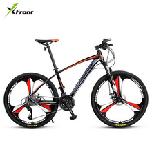 Buy New Brand Aluminum alloy frame 27 speed disc brake one piece wheel mountain bike outdoor downhill bicicleta MTB bicycle for $474.32 in AliExpress store