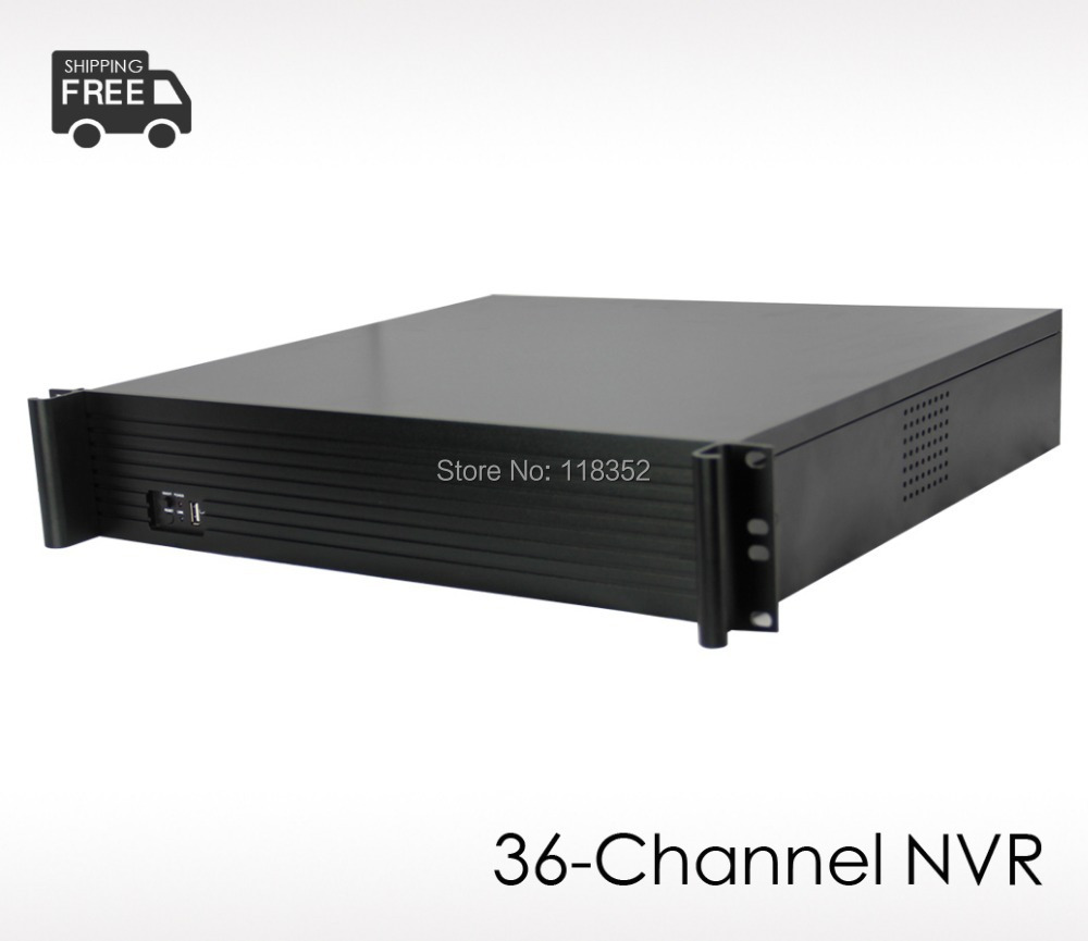 36-channel Network Video Recorder, Free CMS,Support 36CH 960P/25CH 1080P Cameras,Onvif Protocol,Professional Security NVR - YUNCH IP Surveillance Store store